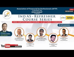6 Days - Free Certification Ind AS Refresher Course Series